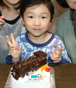 SL大樹のケーキ