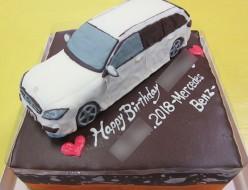 ベンツ車立体ケーキ