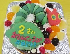 はらぺこあおむしケーキ