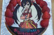 アイドルマスターのケーキ