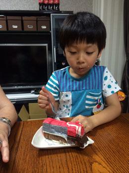 戦隊ケーキ