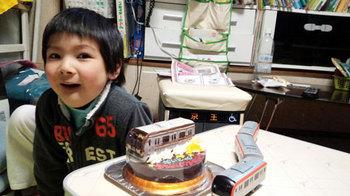 電車(副都心線)立体ケーキ