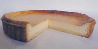 チーズケーキ断面図