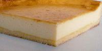 チーズケーキ拡大断面図