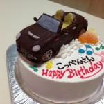 立体コペン車ケーキ