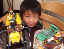 F1レーシングカーケーキ♪