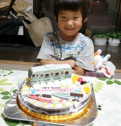 横須賀線と小田急8000形と伊豆急アルファリゾートケーキ