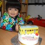西武線電車立体ケーキ