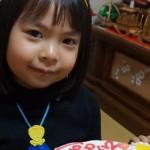ひなまつりのお祝いプリキュアケーキ