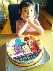 電王&似顔絵ケーキ