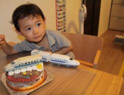 東海道新幹線立体ケーキ♪