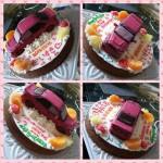 愛車立体ケーキ