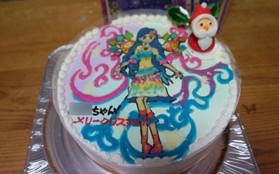 アイカツ!キャラクターケーキ