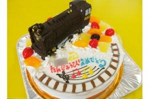SL蒸気機関車ケーキ