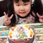 キャラクターイラストケーキ