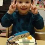 北陸新幹線立体ケーキ