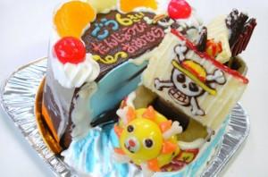 サウザンドサニー号立体ケーキ