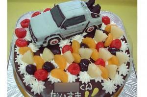 デロリアンケーキ