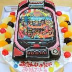 パチンコ台ケーキ