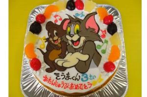 トムとジェリーケーキ