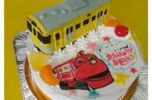 西部電車&チャンギントンのケーキ