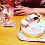 ホンダインテグラ車ケーキ