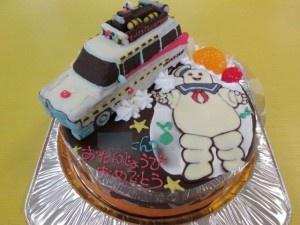 ゴーストバスターズケーキ