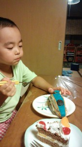 北陸新幹線かがやきケーキ
