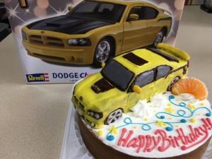アメ車立体ケーキ