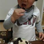 ひつじのショーンとおさるのジョージのケーキ