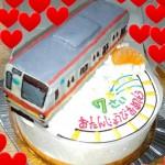 副都心線電車立体ケーキ