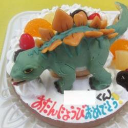 ステゴザウルスケーキ