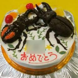 クワガタケーキ