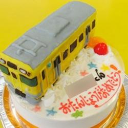 黄色い電車 西武鉄道9000系ケーキ