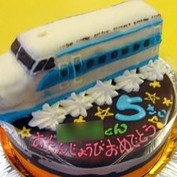 0系新幹線ケーキ