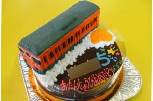 JR113系電車立体ケーキ
