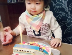 アンパンマンと北陸新幹線かがやきケーキ