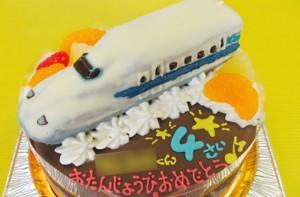 700系新幹線ケーキ