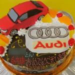アウディ車立体ケーキ