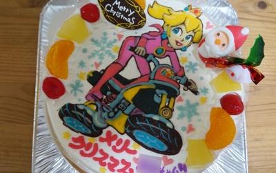 ピーチ姫ケーキ