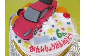 フェラーリ立体ケーキ