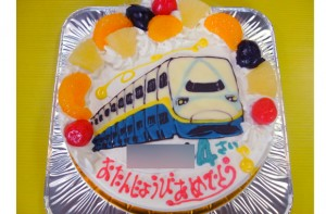 新幹線MAXケーキ