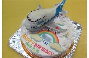 ANA飛行機ケーキ