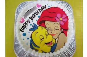 アリエルとフランダ―ケーキ