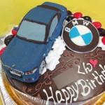 車立体ケーキ、BMW