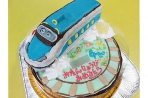 チャギントン立体ケーキ