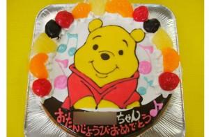 プーさんケーキ