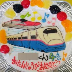 新幹線はやて・こまちケーキ
