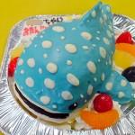 ジンベイザメ立体ケーキ