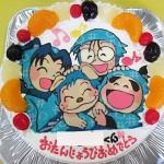 忍たま乱太郎ケーキ